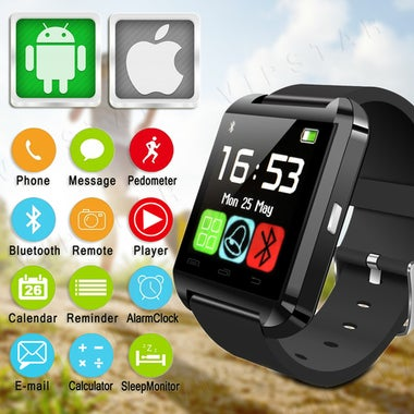 CN Bluetooth Smart Watch WristWatch U8 UWatch Fit for SmartPhones Android Samsun