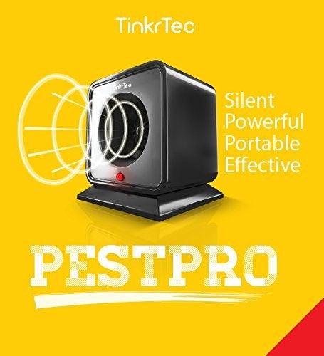 HALLOWEEN  SALE 56% OFF  + FREE SHIP ---  TinkrTec PestPRO Ultrasonic Electronic Pest Repeller with Adjustable Frequency