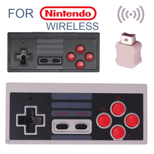 NES Mini Wireless Retro Controller Classic Dual Joystick for iOS Android Gamepad
