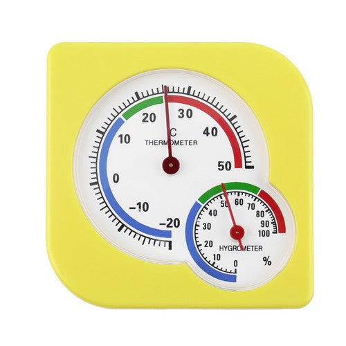 New Classic Homeuse Indoor Outdoor 2 In 1 Mini Accurate Wet Hygrometer Humidity Thermometer Temperature Meter Mechanical