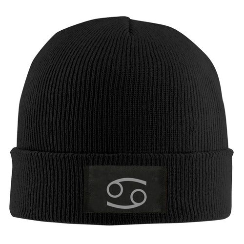 Homestuck Trolls Karkat Vantas Logo Unisex Adult Print Beanie Caps Adjustable Knitted Hat