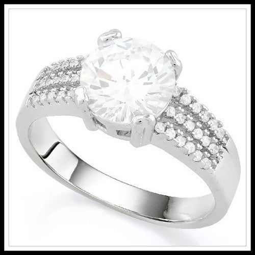 White Sapphire Ring Sm9232