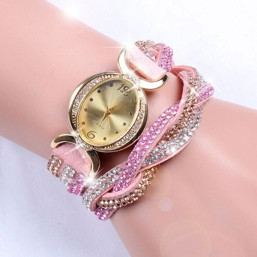Luxury Crystal Bracelet Wristwatch