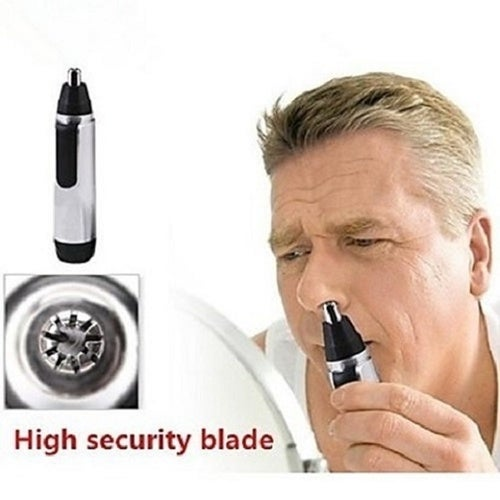 Electric Nose Ear Facial Hair Trimmer Cleaner Shaver Clipper High Security