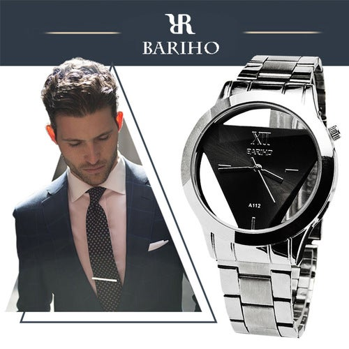 Luxury Top Brand BARIHO Stainless Steel Watches