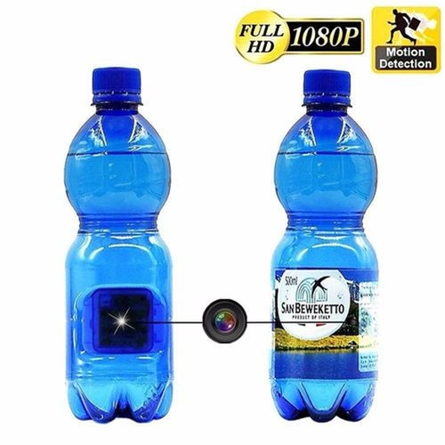 HD 1080P Hidden Camera Potable Real Water Bottle Drinking Water Video Recorder Spy Camcorder DVR