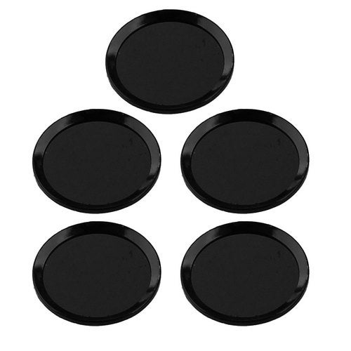 Home Button Sticker Protector Cover 5 PCS Black for iPhone iPad