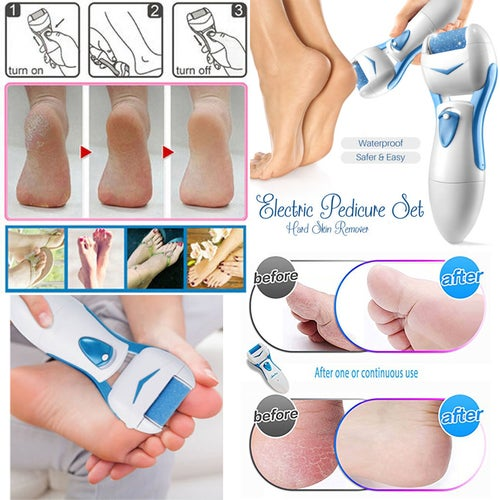 Great Gift for Christmas Electronic Foot File Hard Dead Skin Care Callus Remover