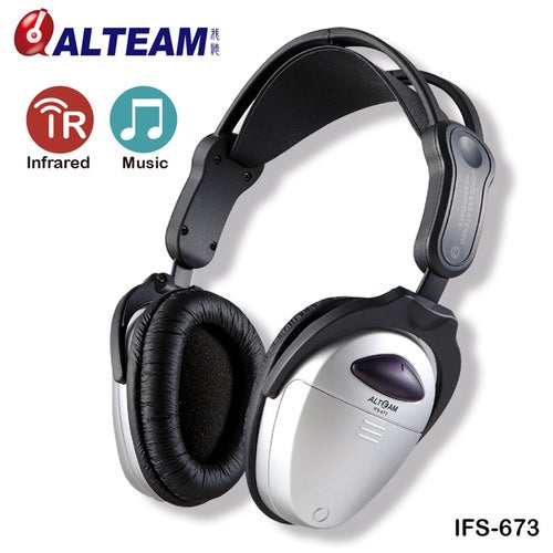 IFS-673 Single-channel Home Car Dedicated Folding Infrared Wireless Headset For