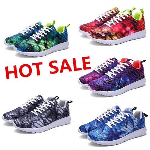 New Colorful Men Women Running Shoes Couple Gym Fitness Casual Sports Sneakers
