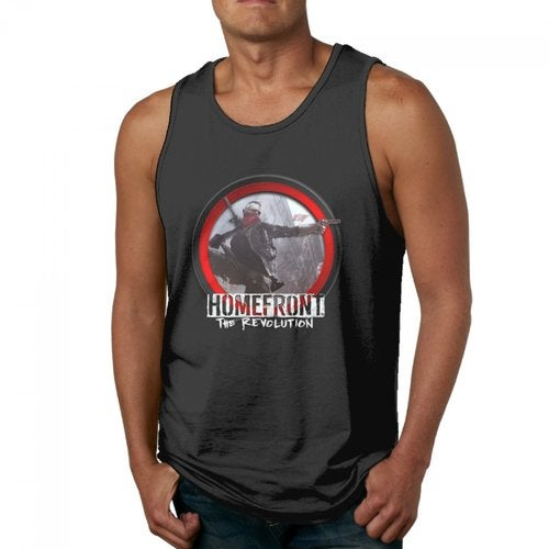Homefront The Revolution 2016 Logo Men's Vest Tank Tops