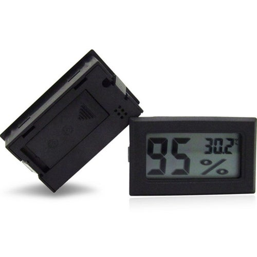 Digital LCD Indoor Thermometer Temperature Humidity Meter Mini Hygrometer Device