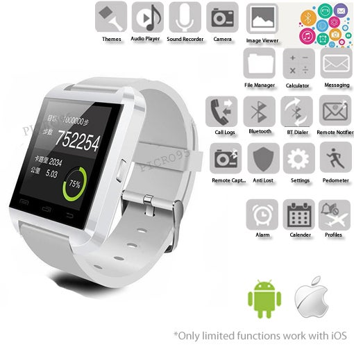 Smartwatch Popular Bluetooth Android Digital Smart Watch