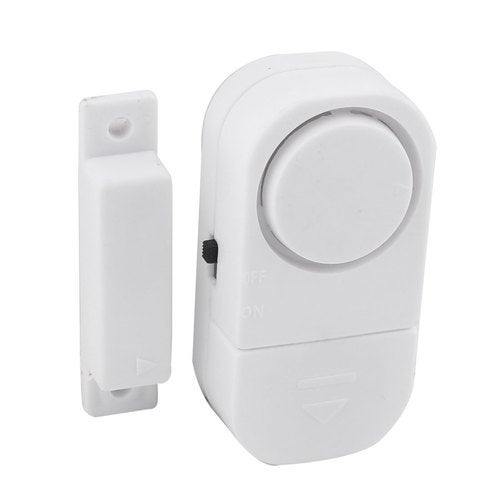 Home Window Door Entry Anti-Theft DIY Safety Magnetic Sensor Wireless Alarm