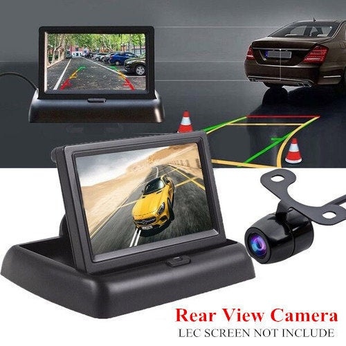 Newest Car Rear Night Vision View Camera 170 Butterfly Night Vision Reverse Monitor For Parking Monitor