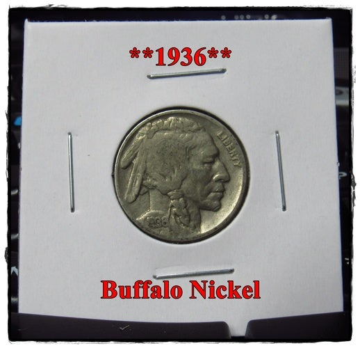 ★★1936★★ 82 Years Old ★★ Buffalo Nickel  - Rare and Authentic - Full Date