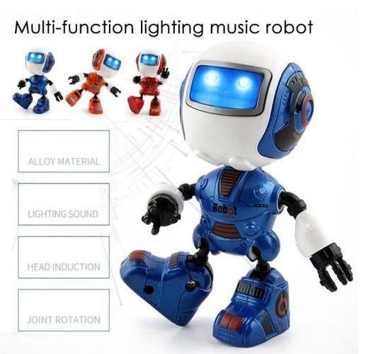 Sensing Touch Multi-function Music Smart Mini Alloy Robot Gift