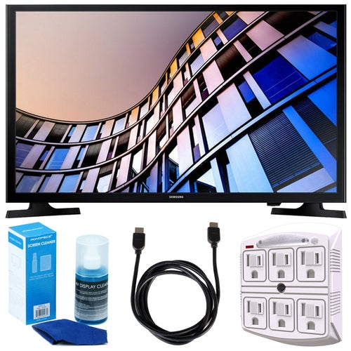 Samsung 27.5 720p Smart LED TV (2017 Model) + Accessories Bundle
