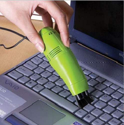 MINI Two-in-one USB Keyboard Vacuum Cleaner