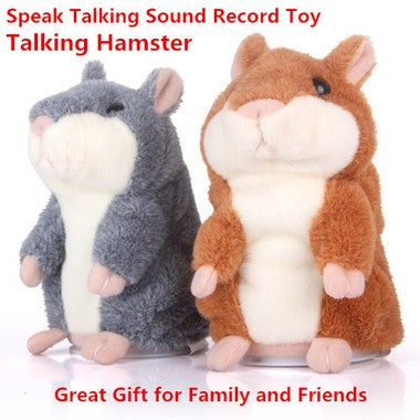 Lovely speaking recordings of a hamster