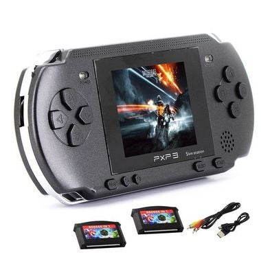Hot! 2018 NEW 16 BIT HANDHELD PORTABLE PXP GAMES CONSOLE