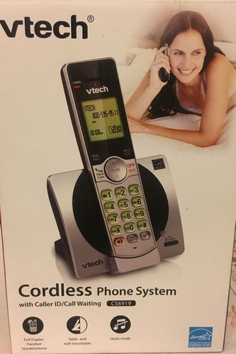 VTech CS6919 DECT 6.0 Cordless Phone with ID Call Waiting