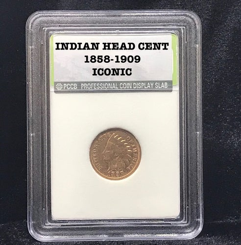 """"""" Authentic ICONIC Sealed"""" Indian Head Cent 1858-1909"""
