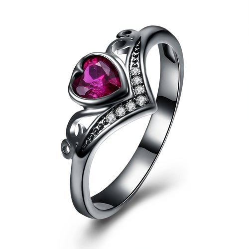 Fashion Jewelry Romantic Heart Creative Ring