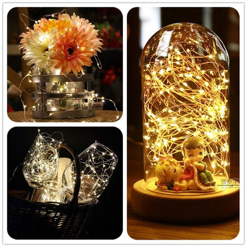 30M 30 LED USB LED String Light Waterproof LED Copper Wire String Holiday Outdoor Fairy Lights For Christmas Party Wedding Decoration
