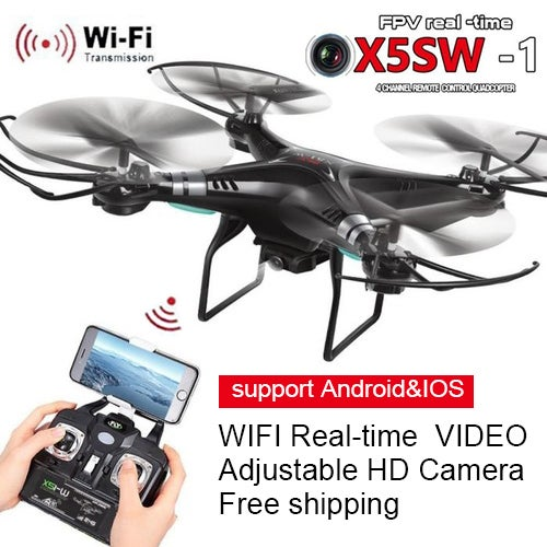 KR WIFI FPV 2 4Ghz 4CH 6-Axis RC Quadcopter Drone | Tophatter