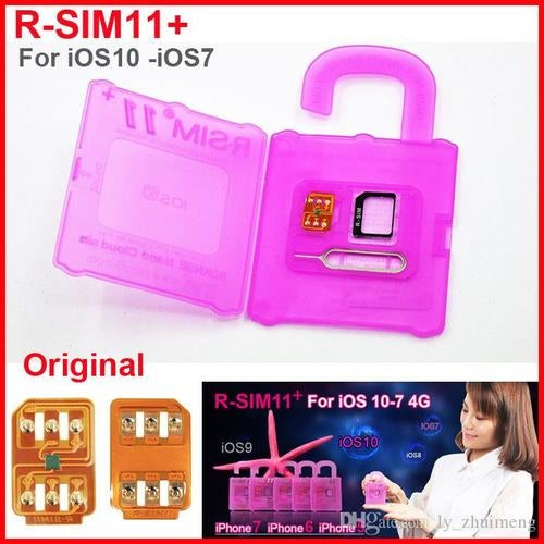 ////////UNLOCK IPHONES FOR FREE NEW UNLOCKING SMART CARD//////// for iPhone 5 5s 6 6plus iphone7 iOS 7 8 9 10 ios7-10.x CDMA GSM WCDMA SB//// AT&T phones T-MOBILE phones SPRINT LTE 4G 3G (HOW TO USE : www.rsim5.com)