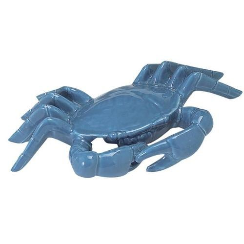 Nautical Ocean Beach Chesapeake Bay Blue Crab Figurine