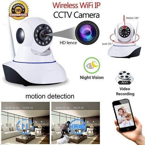 Wifi Smart Camera Housekeeping Artifact Wireless P2P Mini Wireless Video Surveillance Wifi IP Camera Baby Monitor for Home Security Support Night Vision