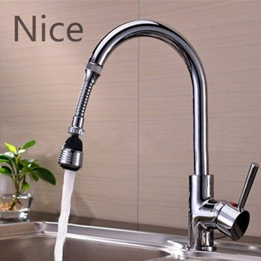 So Nice Water Saving Tap Aerator 360° Rotate Faucet Swivel End Diffuser Adapter