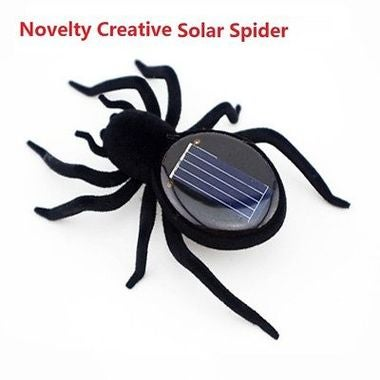 Novelty Creative Gadget Solar Power Robot Insect Car Spider For Children's Chris