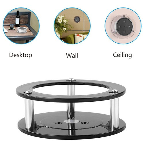 Speaker Stand Wall Mount Holder for Alexa Echo Dot 2nd Generation Enhanced Stability Acrylic Speaker Holder Protection Boom Speaker Home Decoration