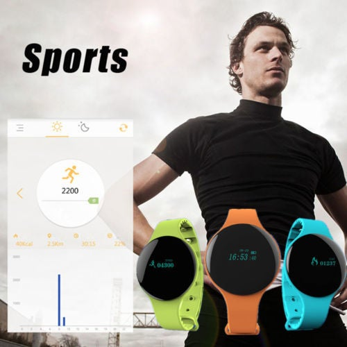 H8 Sport Smart Bracelet Bluetooth Watch sleep Fitness Monitor For Android iOS