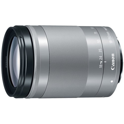 Canon EF-M 18-150 f/3.5-6.3 IS STM Zoom Lens for EOS M Series Cameras - Silver