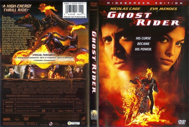 Ghost Rider (Widescreen Edition) DVD