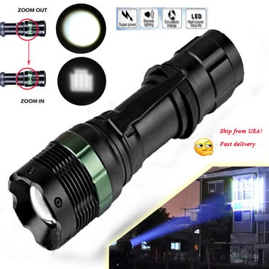 Pro 2200LM CREE XML Q5 LED Flashlight Torch Night Lamp Zoomable 3 Mode