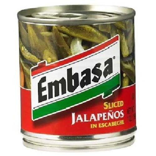Embasa BG12726 Embasa Sliced Jalapeno Pep - 12x7OZ