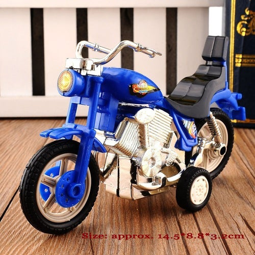 Hot BIdding Plastic Motorcycle Toy Model Hobby Toys Replace Kids Gift Boys & Girls Random (Size: 2)