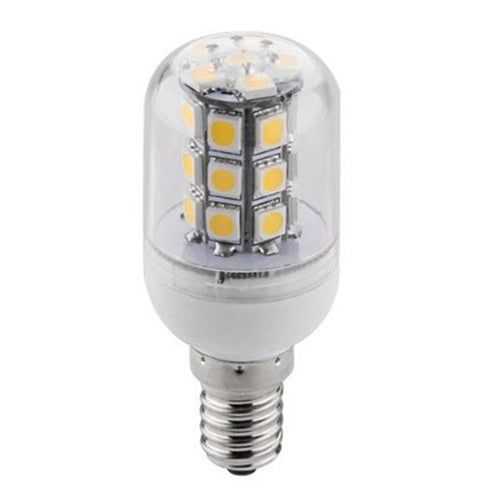 E14 4W 27-5730 SMD Energy Saving Pure Warm White LED Corn Spot Light Lamp Bulb AC/DC24V