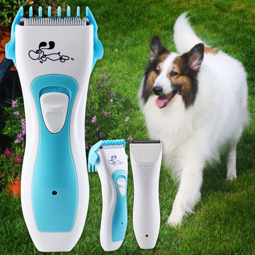 Professional Electric Dog Pet Hair Trimmer Grooming Kit Rechargeable Clippers Dog Hair Clipper Cutters Razor
