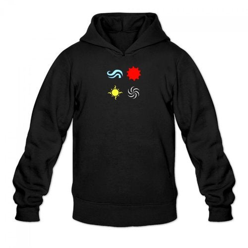 homestuck god tier symbols game Men's Hoody Hoodie Hooded Sweatshirt