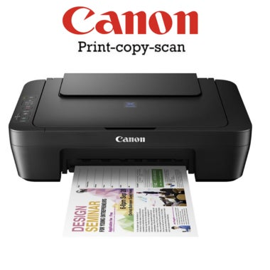New! High-Definition Wireless Canon Printer Pixma MG3020  All-In-One Print Scan