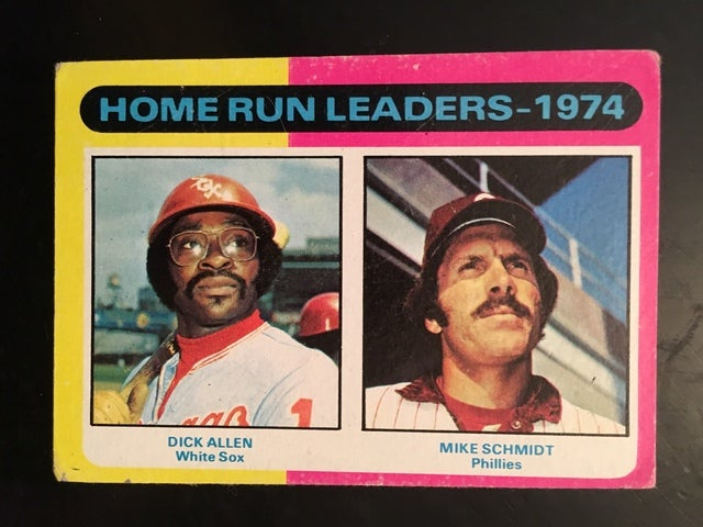 1975 Topps Home Run Leaders # 307
