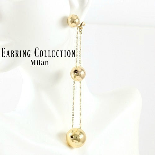 14k Yellow Gold Filled, Ball Drop Earrings Sm934