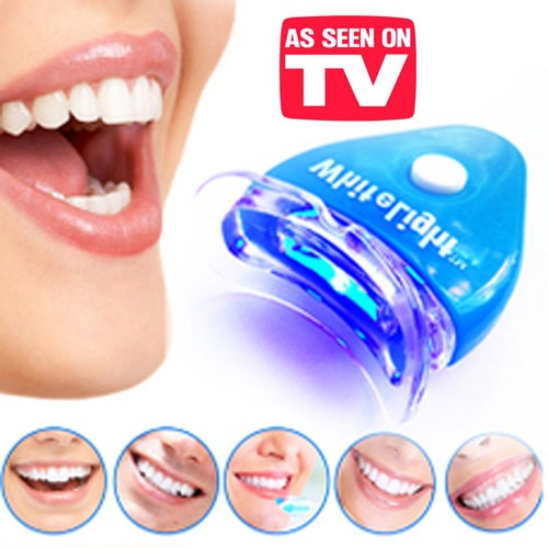 White Teeth Whitening Tooth Kit Gel Whitener Health Oral/Mouth Care Toothpaste Kit For Personal Dental Cleaner With Light