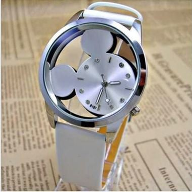 Ebay foreign trade bursts hollow belt watch creative fashion female models table